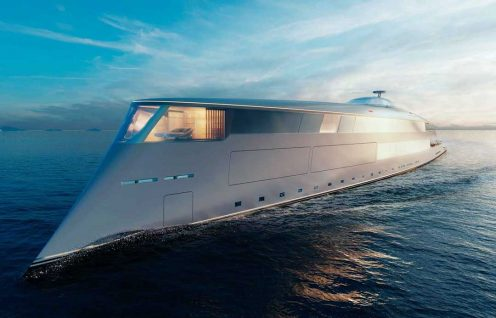 Aqua - photo Sinot Yacht Architecture & Design