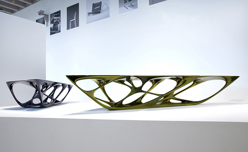 mesa-table © Zaha Hadid