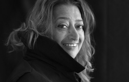 Zaha Hadid photo DR